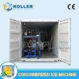 macchina messa in recipienti del blocco di ghiaccio 5tons con cella frigorifera da vendere da Koller