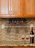 metallo 6-Bottles sotto il supporto della cristalleria di immagazzinamento in la bottiglia di vino del Governo