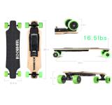 Planche à roulettes électrique de mode sèche à quatre roues de qualité