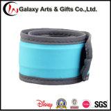Водоустойчивый проблескивая Wristband шлепка полосы СИД шлепка Refelective Wristband для напольных спортов