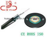 Cable del audio del conector de cable de la comunicación de cable de datos del cable de /Computer del cable óptico de GYXTW