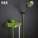 Ducha del verde de Pouplar de la alta calidad y grifo del baño con el kit de la ducha
