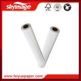 90GSM 1, papel seco de traspaso térmico de la sublimación de 620mm*64inch Quicky para la impresión de la inyección de tinta del formato grande en el poliester/el Spandex