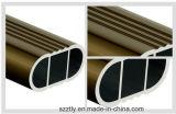 Profil en aluminium d'extrusion anodisé par 6063