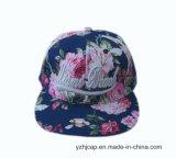 sombrero del Snapback de la impresión del Snapback del bordado 3D