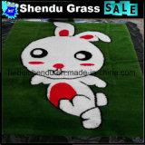 OEMデザインの草のカーペットのマット1mx1m