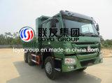 الصين [سنوتروك] [هووو] [دومب تروك] [6إكس4] شاحنة قلّابة مع [371هب]