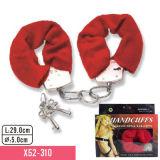 Kit de sujeição sexual Set 6 PCS Conjunto de produtos sexy Jogos para adultos Brinquedos Punhos para mão Chicote, braçadeiras de bocal, Vibração de várias velocidades