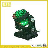 19PCS B-العين أوسرام LED نقل رئيس إضاءة المسرح مع التكبير