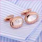 L'alta qualità di VAGULA Cuffs i gemelli 52306 della camicia della perla della madre di collegamenti di polsino delle coperture del mare