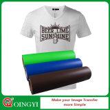 La mejor película del traspaso térmico del PVC de la calidad de Qingyi para la ropa