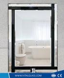 Polierdekoration-Spiegel/tönte silbernen Kleid-Spiegel ab