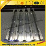 Het Profiel van de Buis van het aluminium met CNC Diepe Verwerking Aangepaste Grootte