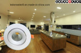 Eficacia alta impermeable 27 LED ahuecado W Downlight