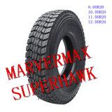 Marca de fábrica excelente 9.00r20 12.00r20 de Superhawk&Marvemax del neumático de TBR