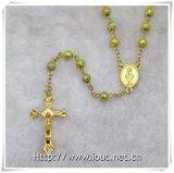 카톨릭교 수지는 구슬로 장식한다 묵주 (IO cr376)를
