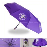 10 Rippen SelbstOpen&Close Regenschirm mit verstärktem Entwurf
