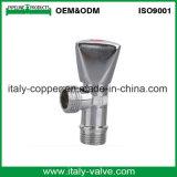 Válvula de ângulo cromada bronze da qualidade de OEM&ODM (AV3017)