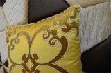 Palier décoratif de velours de mode de coussin de broderie (EDM0328)