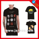 T-shirt chaud d'impression de lettre de sport de mode de vente