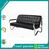 Migliore disposizione dei posti a sedere moderna comoda nera di ricezione del sofà dell'ufficio di Gravitas da vendere