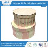 Dongguan embalaje caja redonda Whalesale caja de espuma para la flor preservada