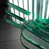 Máquina de polonês de vidro da borda do CNC da elevada precisão para a mobília de vidro