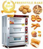 食糧を作るための機械を焼く6つの皿はデッキのオーブン(WQL-Y-3)に属する
