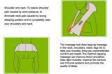 Form-heißer verkaufenschulter-Massage-Riemen