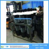 Mais de 50kg 40L 150bar Cilindro de gás preto e branco de aço sem costura