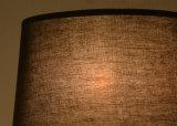 Metallschwarz-Kopfende-kann modernes Schreibtisch-Tisch-Lampen-Licht der Garantie-3years im Gewebe-Farbton, Höhe justierbar sein