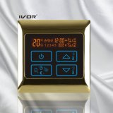 Programmierbarer Bodenheizung-Thermostat-Noten-Schalter-Metallrahmen (SK-HV2000-L)