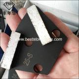 Диамант трапецоида металла CD-25 HTC меля полируя истирательный для конкретного Terrazzo