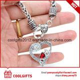 Nueva pulsera de la aleación del corazón del diamante de las señoras del regalo de boda del diseño