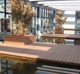 Haltbarer WPC TeakholzDecking des Guangdong-Lieferanten-neuen Erzeugungs-für Bodenbelag