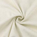 Materia textil que hace punto de la tela orgánica de Kntting con la certificación de Gots