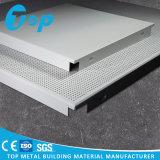 Clip de aluminio en techo colgado al techo del metal del techo