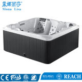 M-3354 2.2meters Outdoor Square Acrylic Jacuzzi Whirlpools