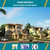 Casa de la familia de la estructura de acero de la larga vida del bajo costo