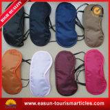 Masque 100% d'oeil remplaçable de ligne aérienne d'Eyemask de sommeil de douane de promotion de polyester