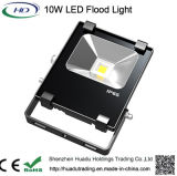 セリウム、RoHSの証明書が付いている安い価格の高品質10W LEDの洪水ライト