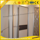 6063 T5 écologique Porte en aluminium Porte coulissante avec ISO 9001 Section Aluminum