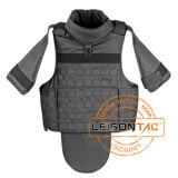 Zou het Ballistische Vest van Kevlar met volledig-Bescherming/met Ballistische Platen kunnen zijn