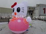 Милый воздушный шар шаржа Ketty раздувной Cate для рекламировать K2095