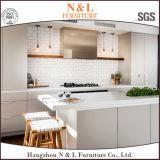 N&Lの光沢度の高いラッカーMDFの食器棚