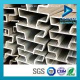 Profil T5 en aluminium des bons prix de vente directe d'usine pour des forces de défense principale de Slatwall de garniture intérieure