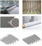 Rete metallica nera inossidabile della corda dell'acciaio inossidabile dell'ossido