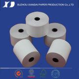 papier thermosensible bon marché Rolls de roulis de papier industriel de roulis de papier thermosensible de 75mm