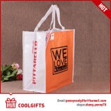 Bolso tejido PP modificado para requisitos particulares promocional, bolso no tejido, bolso de totalizador que hace compras