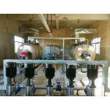 caldera de agua caliente de fuel horizontal de la presión atmosférica 800kw